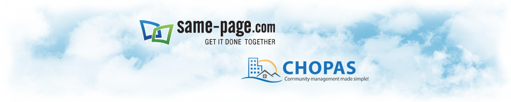 About Same-Page.com LLC and CHOPAS