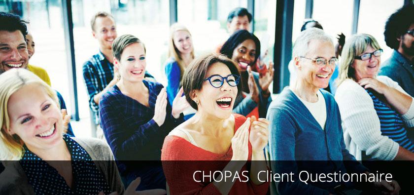 CHOPAS Client Questionnaire